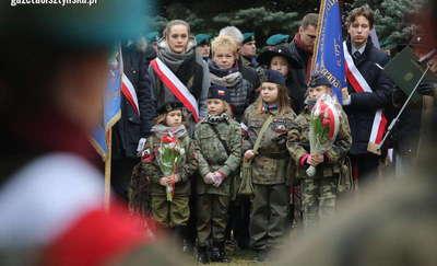 Uczcili pamięć Żołnierzy Wyklętych [FILM, ZDJĘCIA]