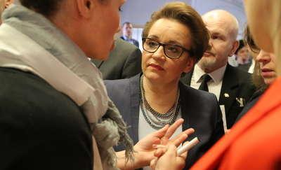 Minister edukacji w Olsztynie. Pytań o reformę nie brakowało [ZDJĘCIA]