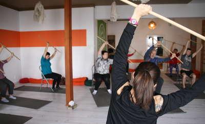 W walce z chorobą pomaga im joga