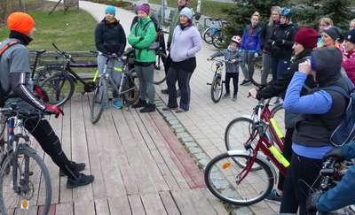 """Akcja """"Obudź borsuka"""" z Fit nie Fat. Rowery poszły w ruch!"""