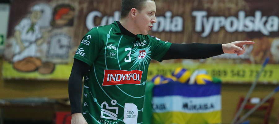 Michał Żurek, libero Indykpolu AZS Olsztyn