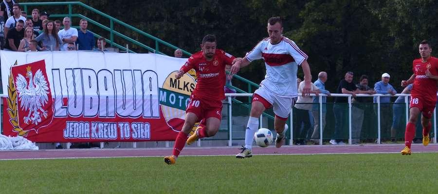 Jesienią w Lubawie górą był Widzew, który wygrał 2:0