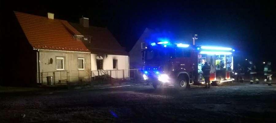 Najgroźniejszym zdarzeniem okazał się pożar w miejscowości Kantowo, do którego doszło 14. marca tuż przed północą