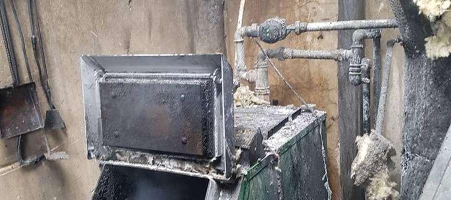 Przyczyną pożaru było zwarcie instalacji elektrycznej
