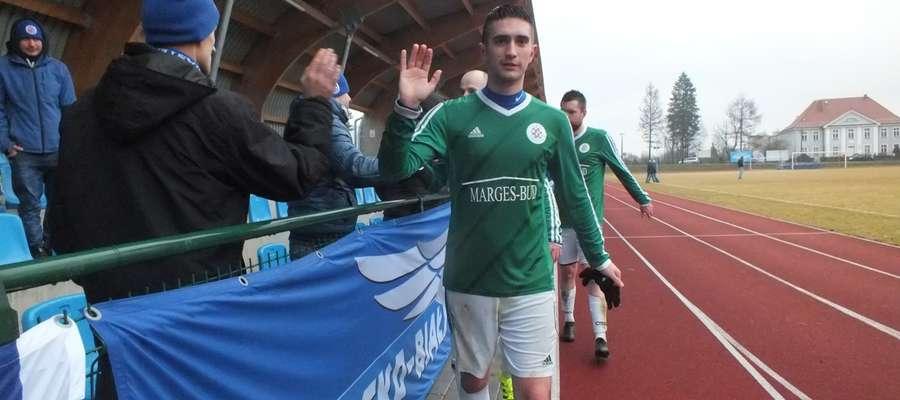 Dwie bramki dla Cresovii strzelił Daniel Wierzbowski