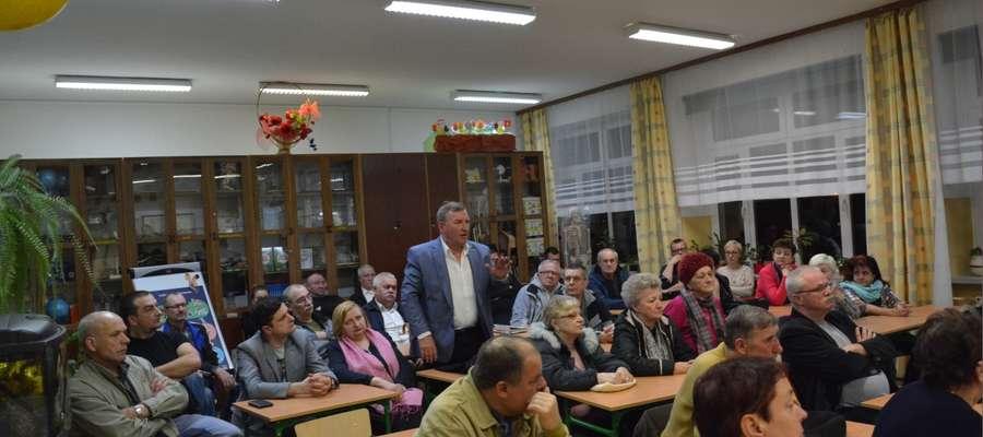Zebranie mieszkańców na os. Siejnik w Olecku