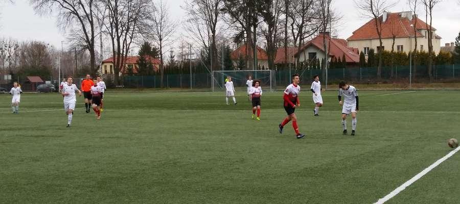 Juniorzy młodsi AP Ostróda przegrali 1:3 z Concordią Elbląg