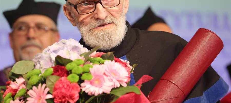 W 2016 roku Erwin Kruk otrzymał tytuł doktora honoris causa Uniwersytetu Warmińsko-Mazurskiego w Olsztynie