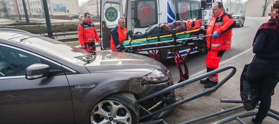 Do wypadku doszło w pobliżu skrzyżowania ul. Robotniczej ze Stoczniową