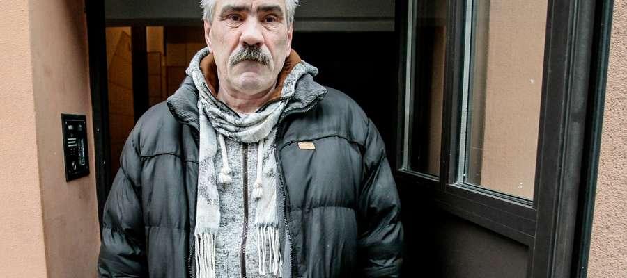 Zbigniew Wieleński miał wypadek na klatce schodowej przy ul. Zagonowej