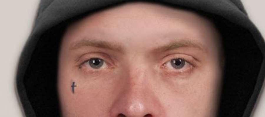 Napadł i okradł 18-letnią dziewczynę. Policjanci poszukują mężczyzny z portretu pamięciowego