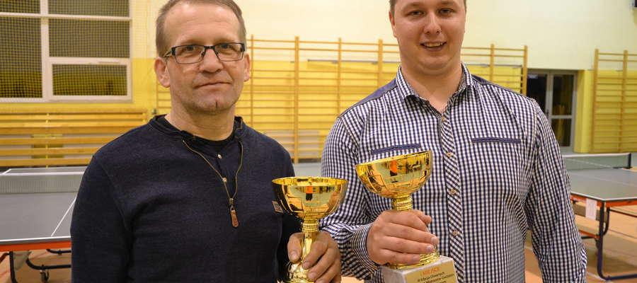 Zwycięzcy turnieju — Karol Balicki i Michał Mówiński