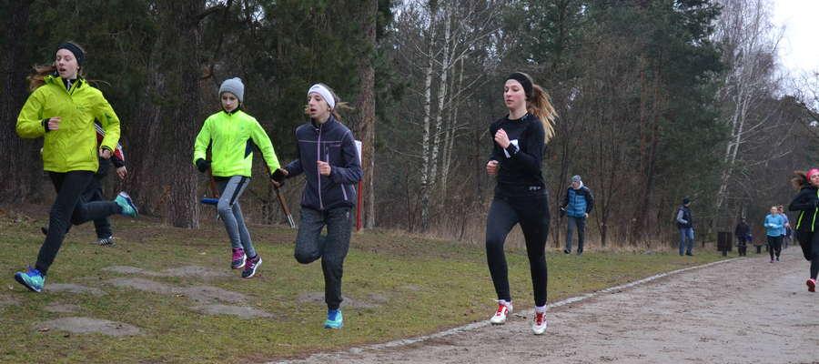 Dziewczęta z MLKS Ostróda w Piasecznie nie dobiegły do podium