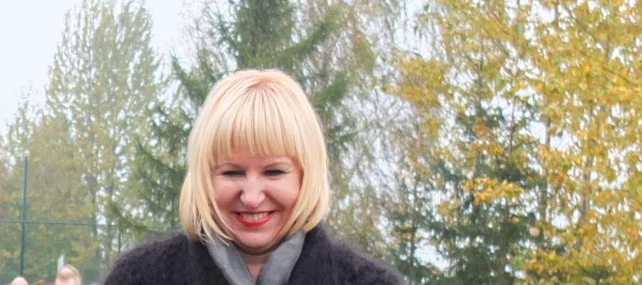 Dyrektor Zespołu Szkół im. Jana Pawła II w Jamielniku Marzena Weisgerber