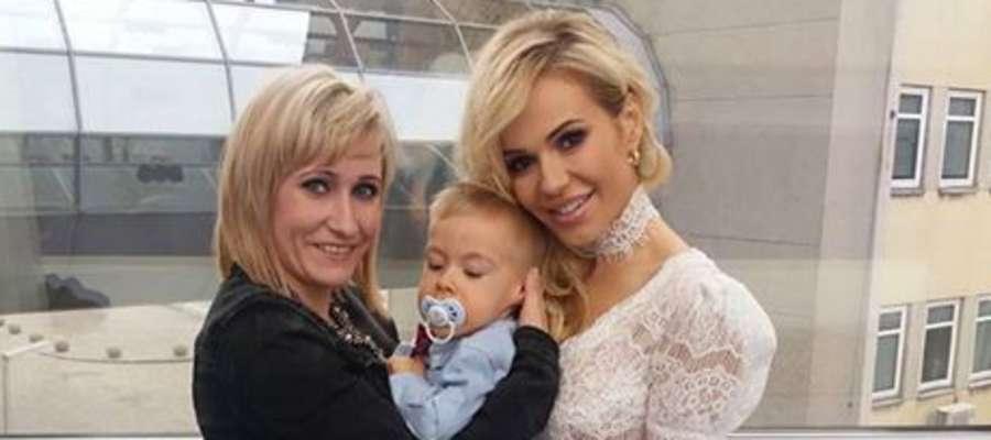 Fabian Dargiewicz z mama i Dodą