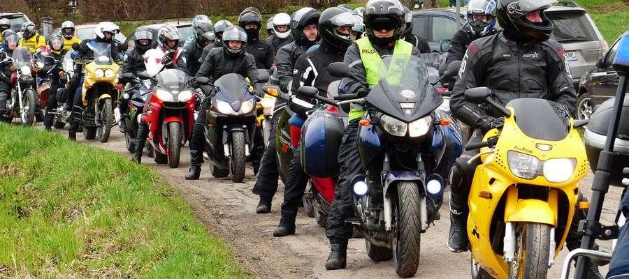 Motocykliści z Sorkwit