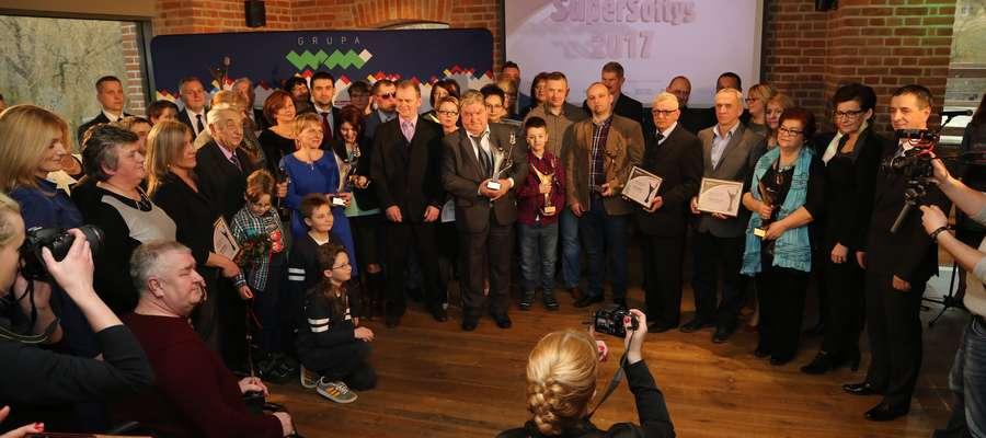 Gala Supersołtys 2017 w Browarze Warmia w Olsztynie