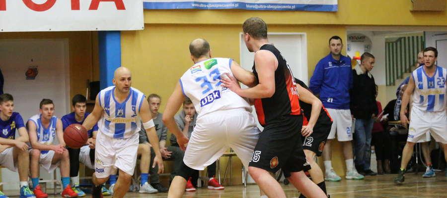 Koszykarze olsztyńskiego Stomilu