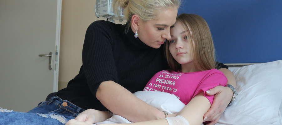 Justyna z mamą Joanną
