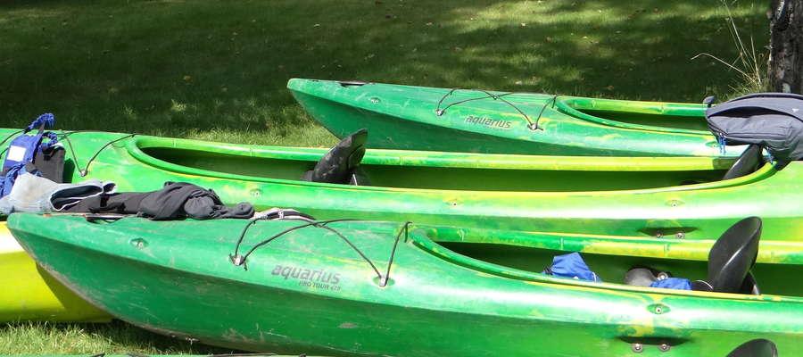 Kajaki czekają na eko-wodniaków