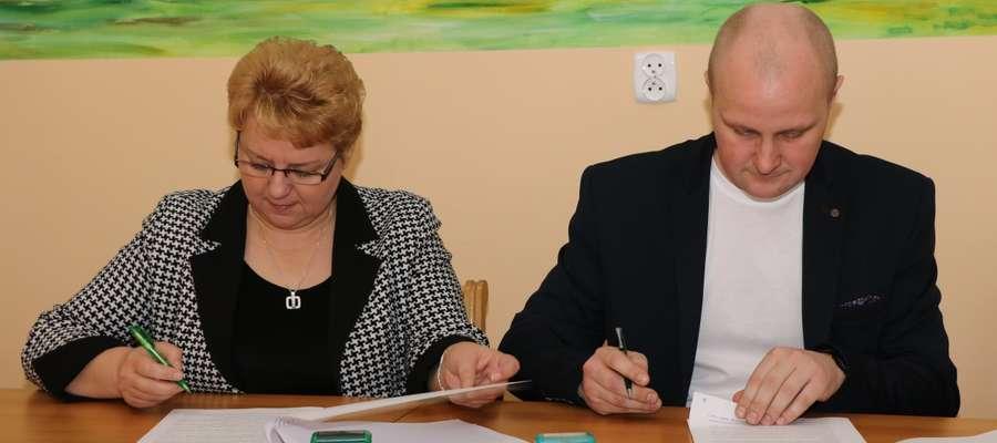 Podpisanie umowy z wykonawcą remontu ulicy Lipowej w Sępopolu