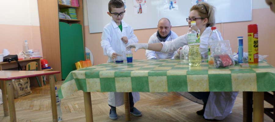 Festiwal nauki w przedszkolu Stokrotka