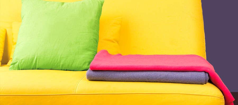 Stara kanapa a nowe wnętrze