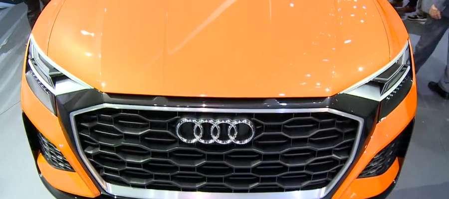 Audi zaprezentowało Q8 sport concept na targach w Genewie