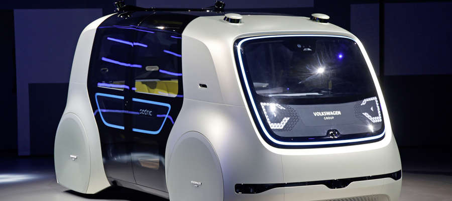 Volkswagen Sedric — piąty poziom autonomii