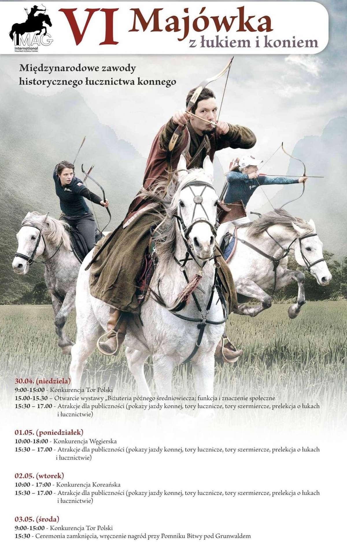 Majówka z łukiem i koniem - full image