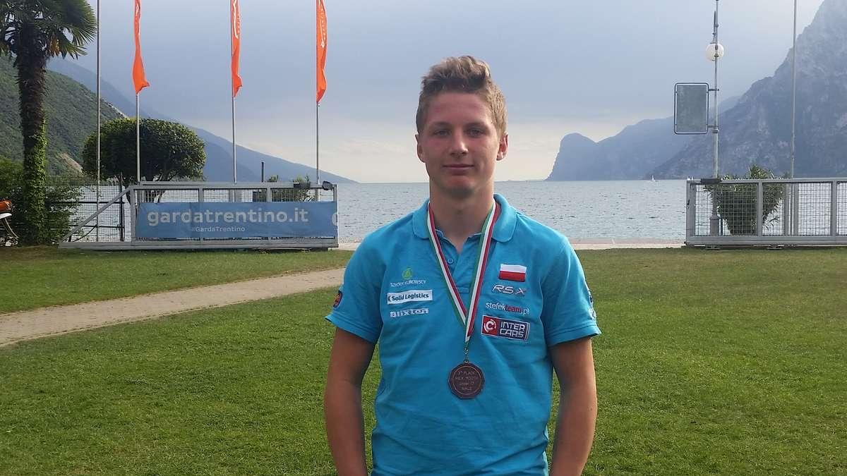 Maciej Zalewski z brązowym medalem regat Easter Meeting w Torbole