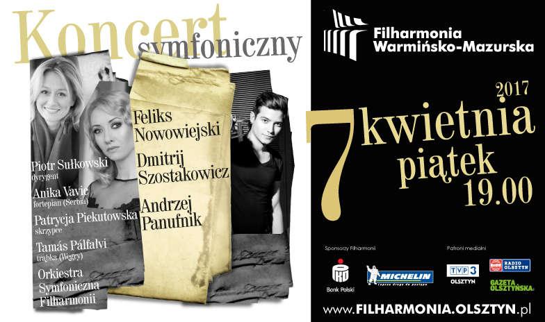 Nowowiejski, Szostakowicz, Panufnik. Koncert symfoniczny w filharmonii - full image