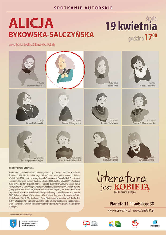 Spotkanie z Alicją Bykowską-Salczyńską - full image