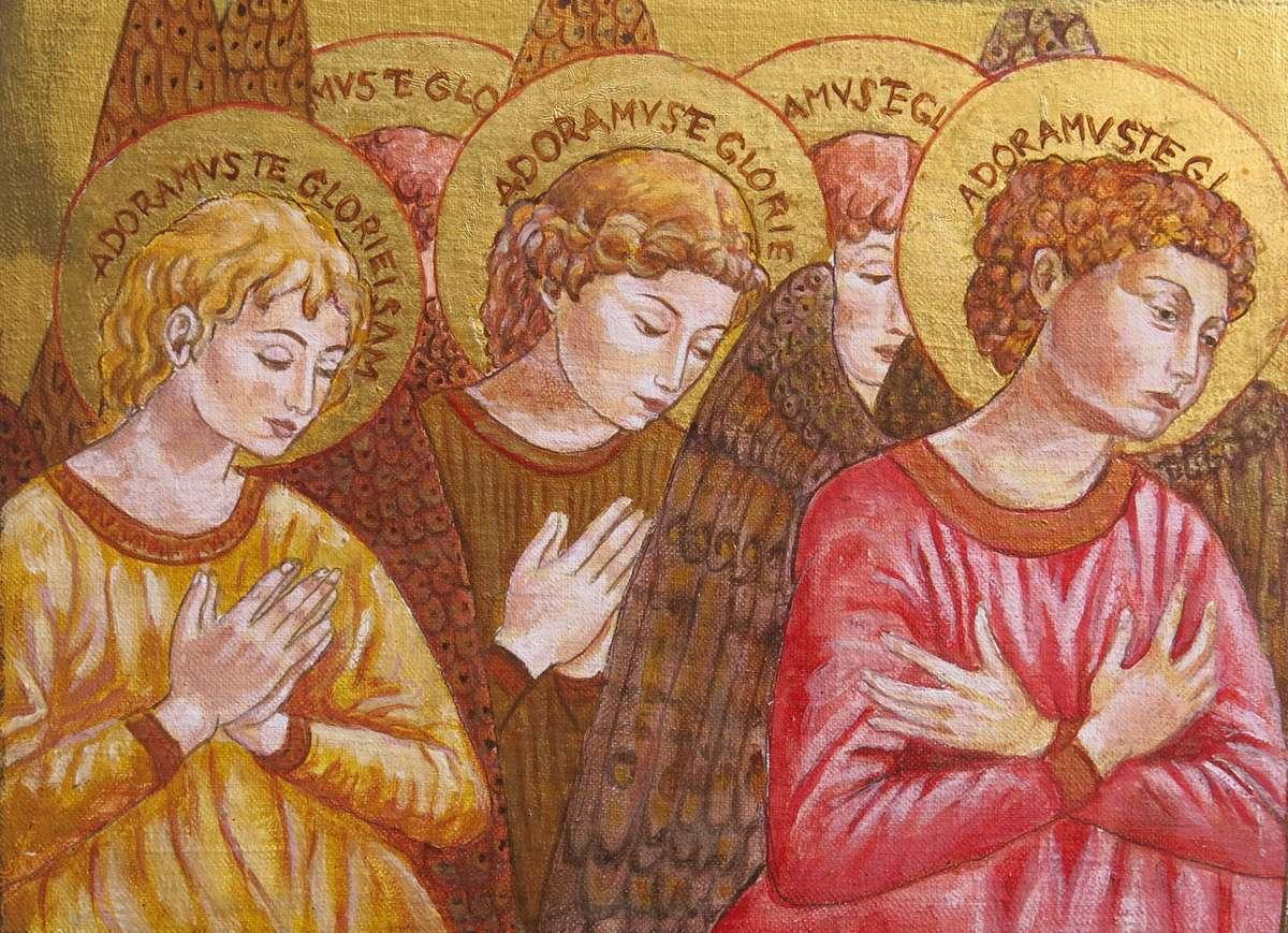 Skupienie. Ikony Krystyny Ciszkiewicz w galerii Bakałarz - full image