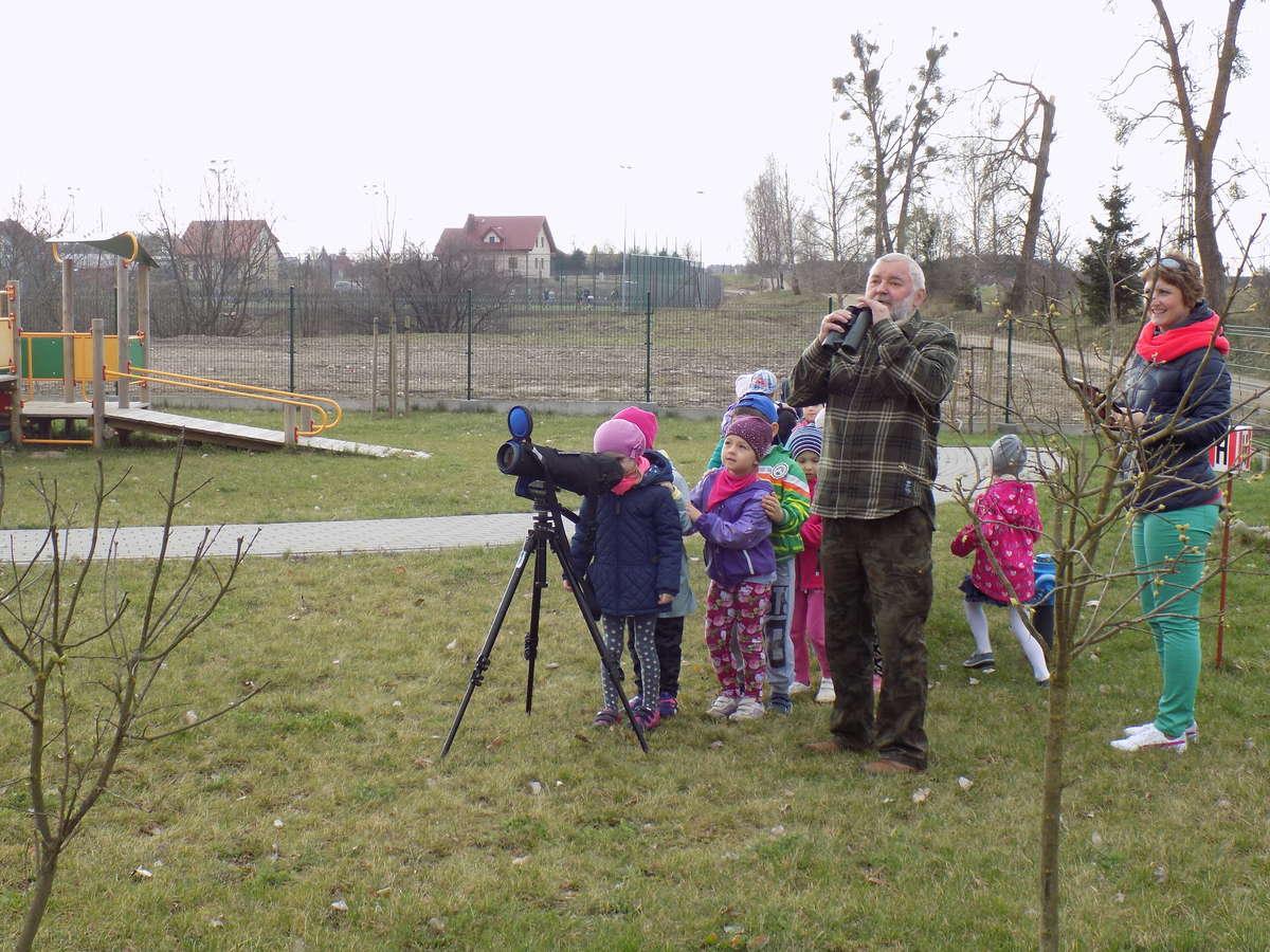 Piecki - spotaknie z ornitologiem