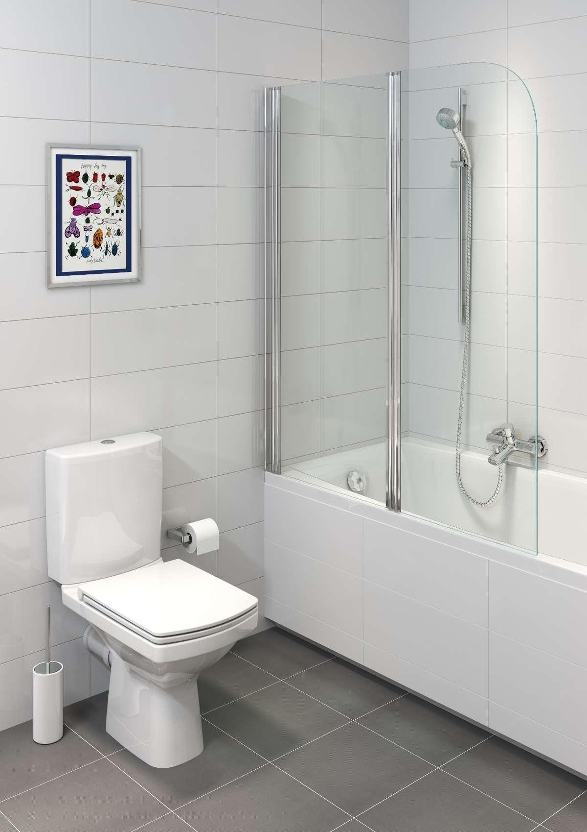 Po tym remoncie mała łazienka otrzyma dodatkową przestrzeń  - full image
