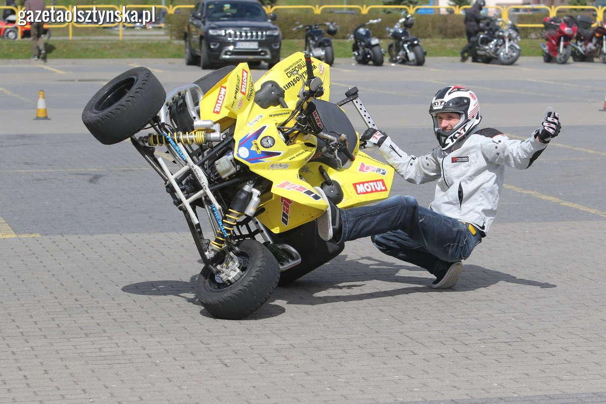 Tabunada w Olsztynie rozpoczęła sezon motocyklowy [FILM, ZDJĘCIA] - full image