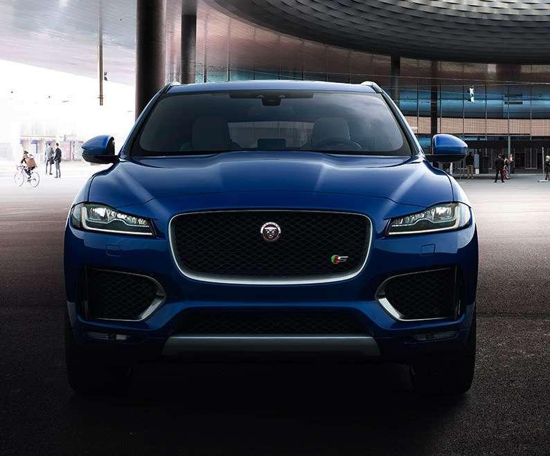 Jaguar F-pace samochodem roku 2017 - full image