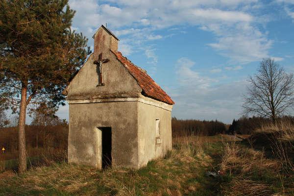 Kapliczka chroniąca przed żmijami - full image