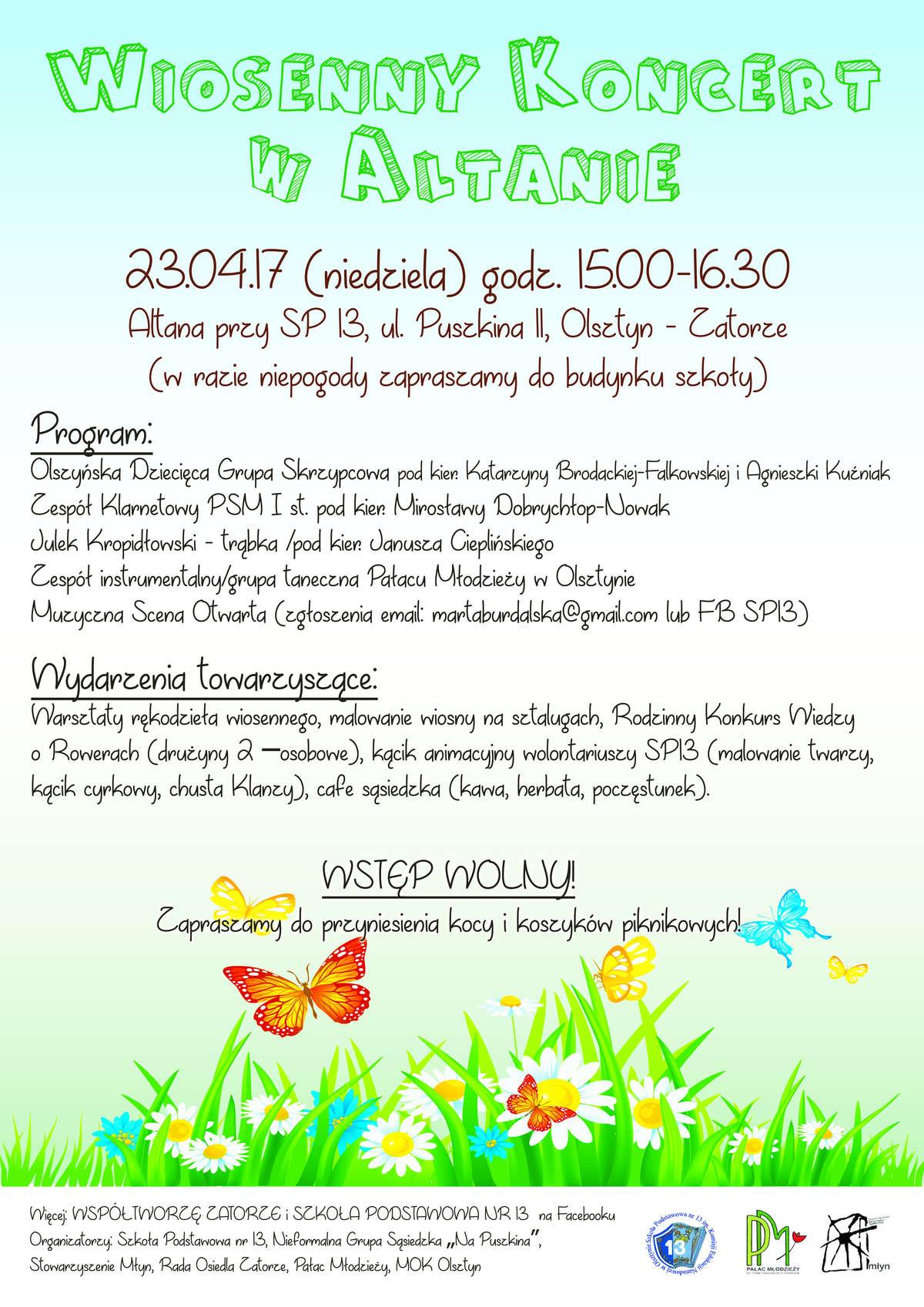 Wiosenny Koncert w Altanie na Zatorzu - full image