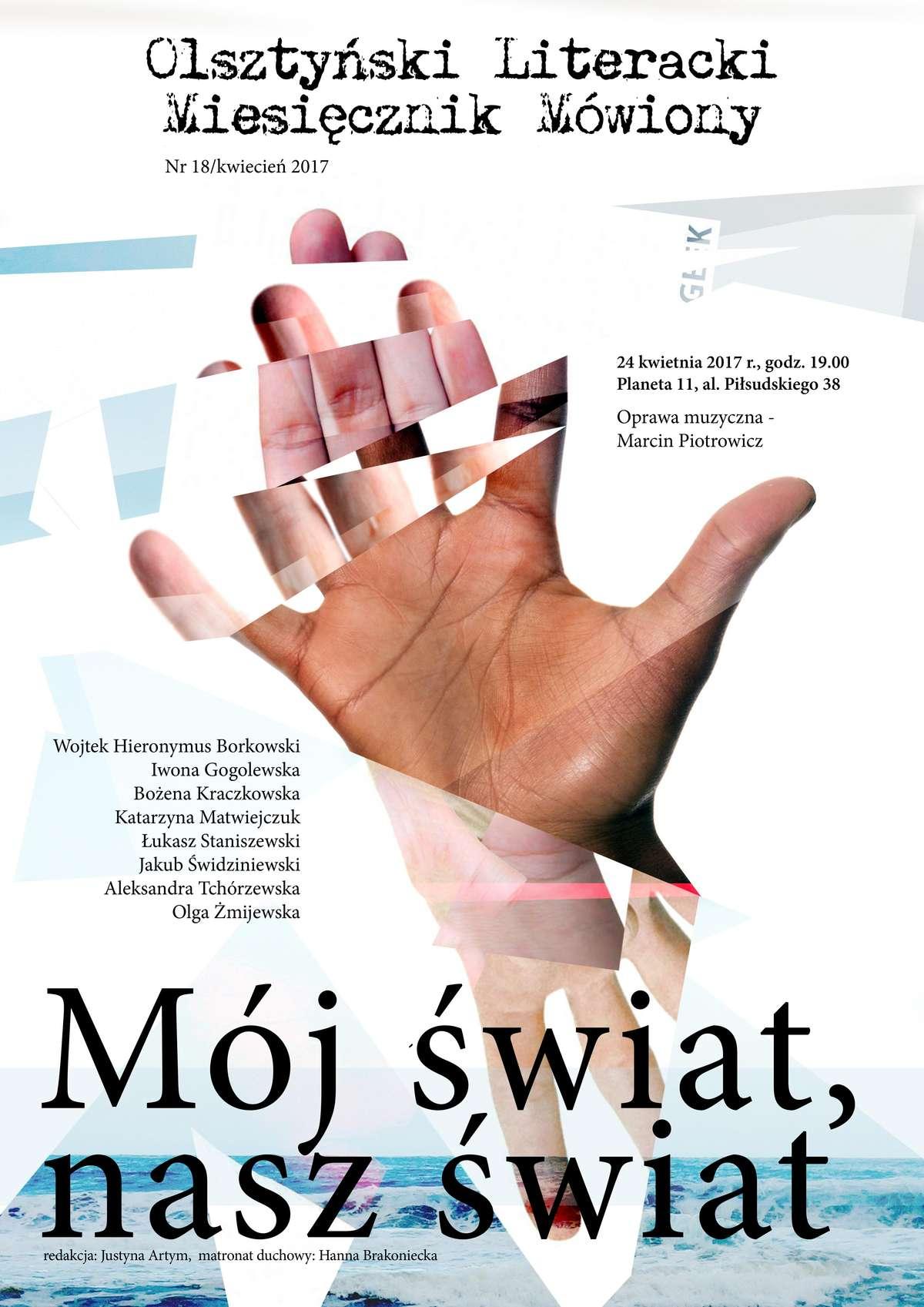 Olsztyński Literacki Miesięcznik Mówiony w Planecie 11 - full image