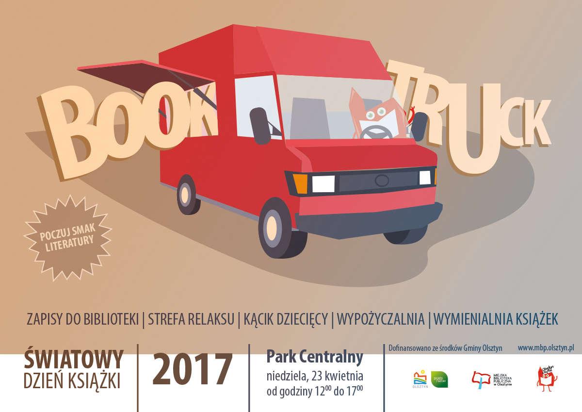 """""""Miejski Book Truck Publiczny"""" zaparkuje w Parku Centralnym - full image"""