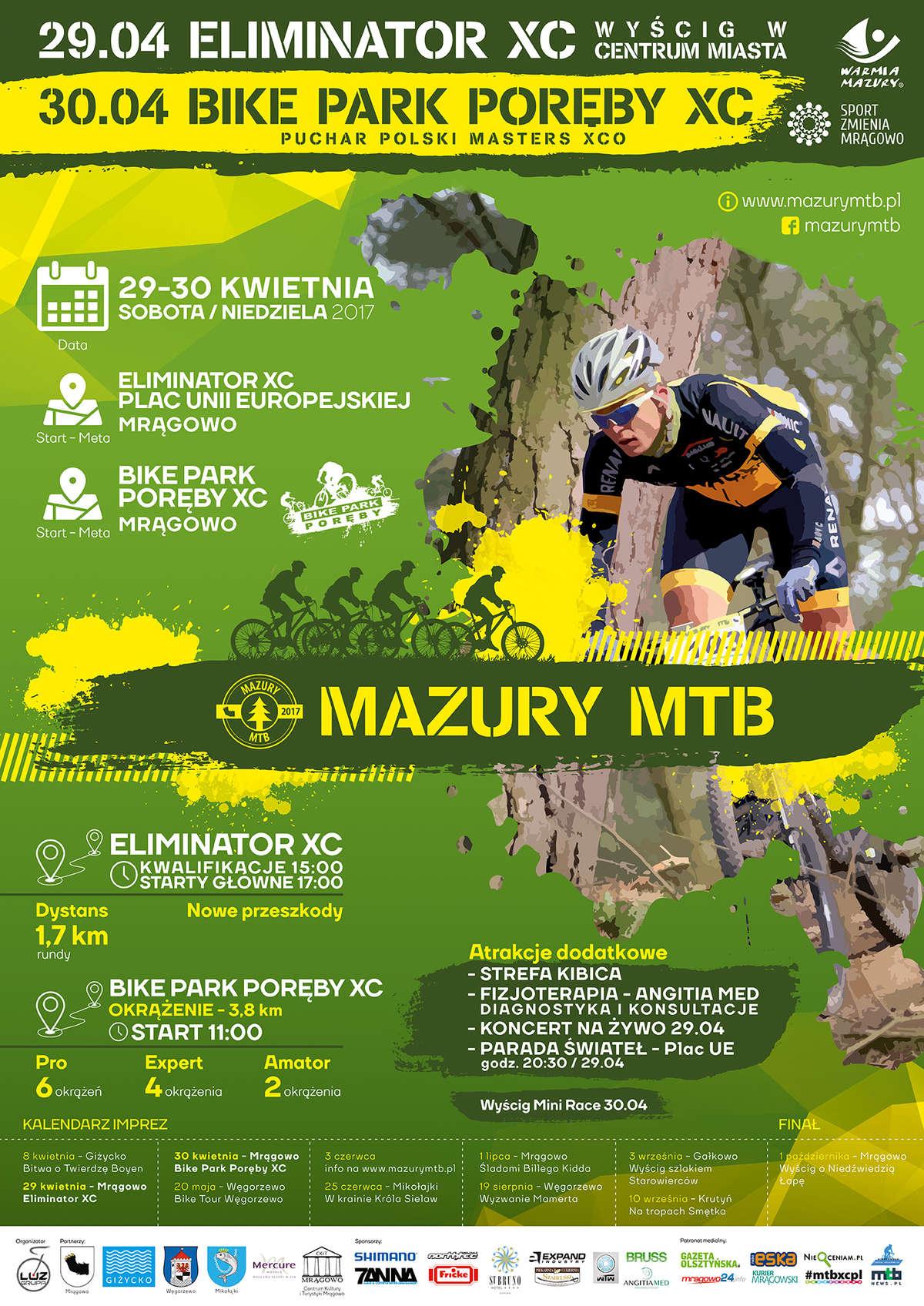 Majówka z Mazury MTB w Mrągowie - full image