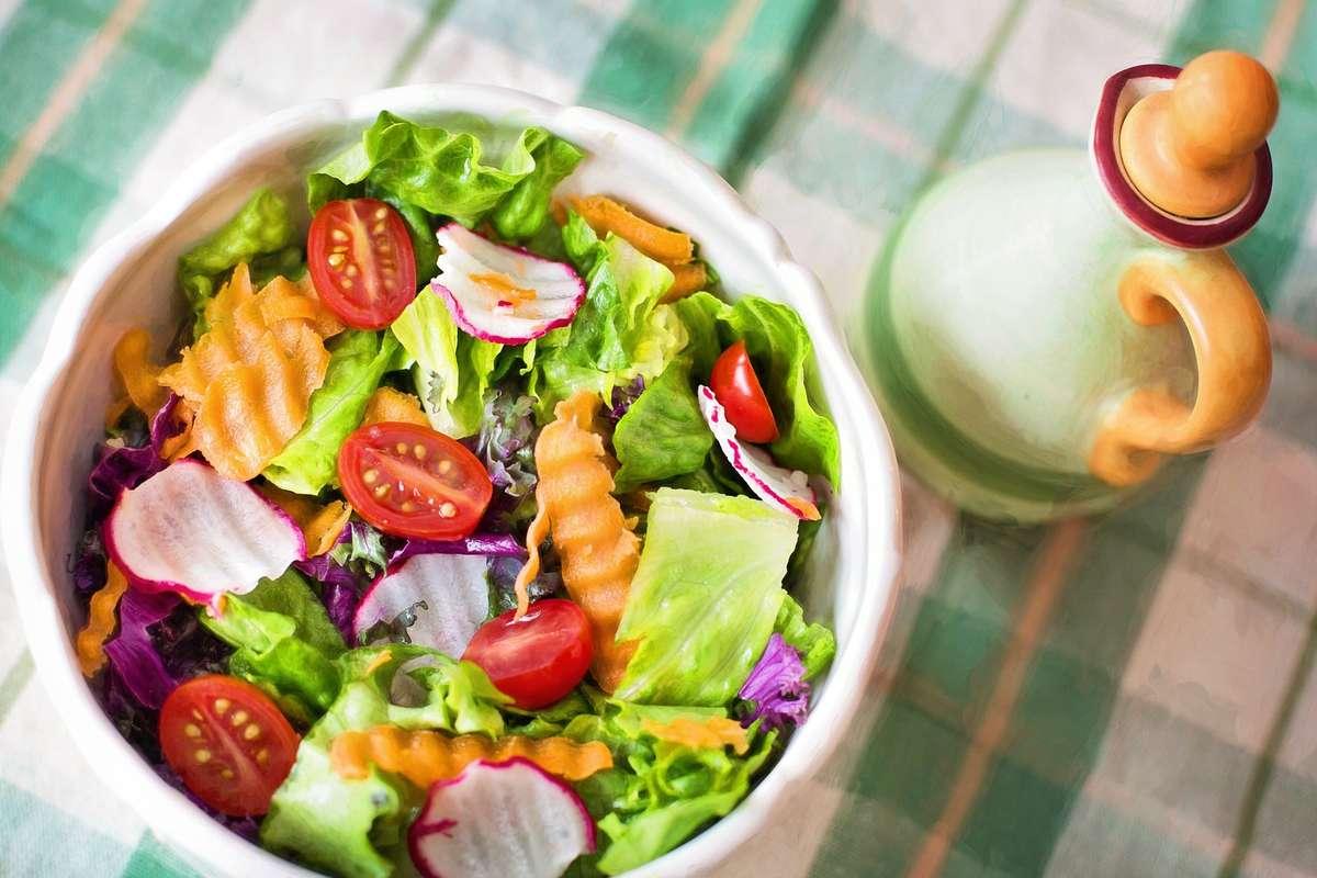 Warzywa i owoce a dobry nastrój - full image