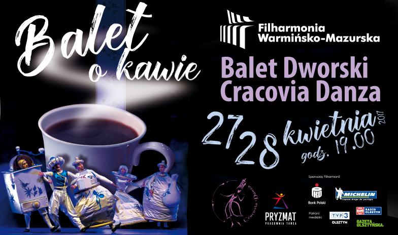 Spektakl Balet o kawie w Filharmonii Warmińsko-Mazurskiej