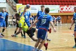 mecz ręczna  Olsztyn - Mecz Warmii Traveland Olsztyn kontra Nielba Wągrowiec.
