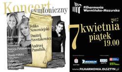 Nowowiejski, Szostakowicz, Panufnik. Koncert symfoniczny w filharmonii