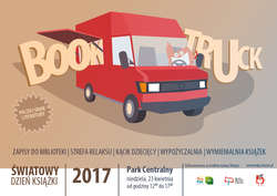 """""""Miejski Book Truck Publiczny"""" zaparkuje w Parku Centralnym"""