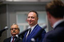 prezes Warmińsko-Mazurskiej Specjalnej Strefy Ekonomicznej Grzegorz Smoliński