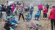 Uczniowie z Kamieńca sadzili las. Wynik? 5,5 tysiąca sadzonek sosny